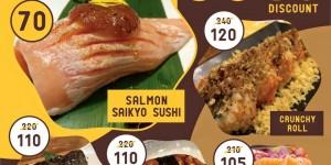 โปรโมชั่น Kabocha sushi @ the street ratchada (วันนี้ - 1 ก.พ.59)