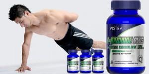 Vistra L-Arginine Plus สูตรใหม่! L-Ornithine Hydrochloride เหมาะมากสำหรับหนุ่มๆที่รักสุขภาพ